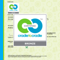 Cradle to Cradle certified