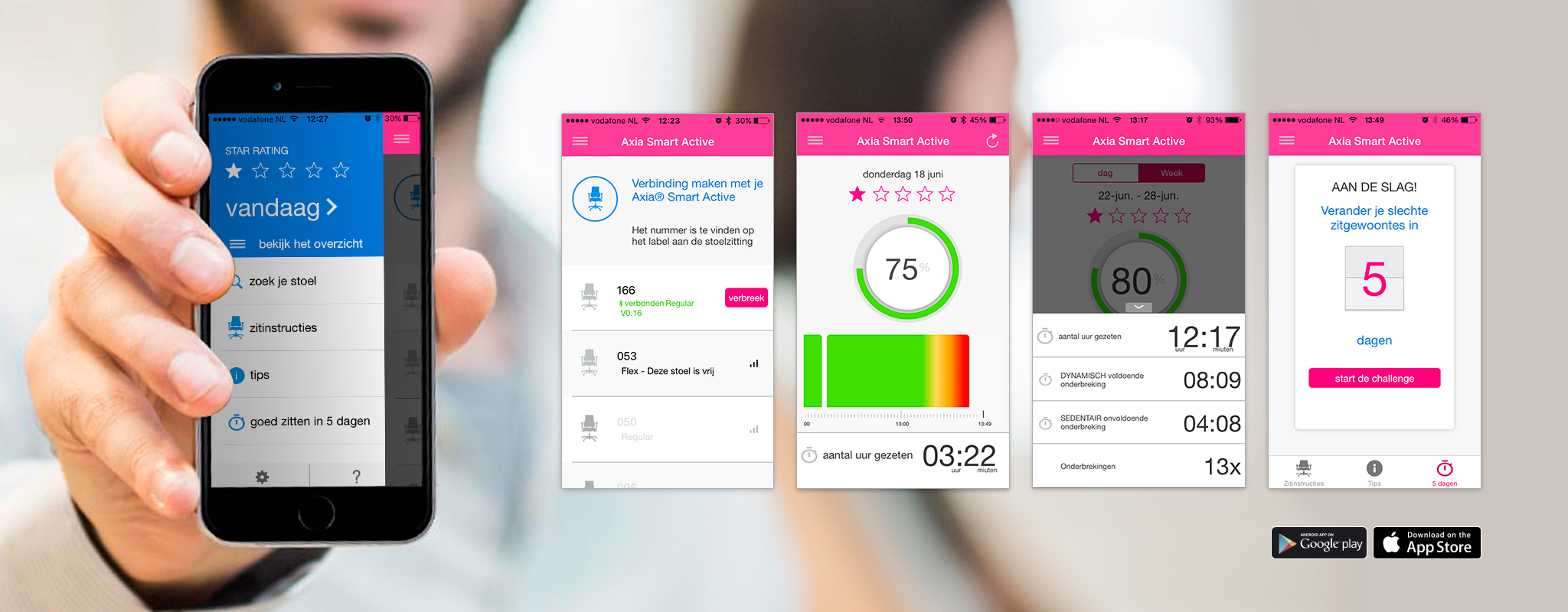 Download de Axia Smart Active App