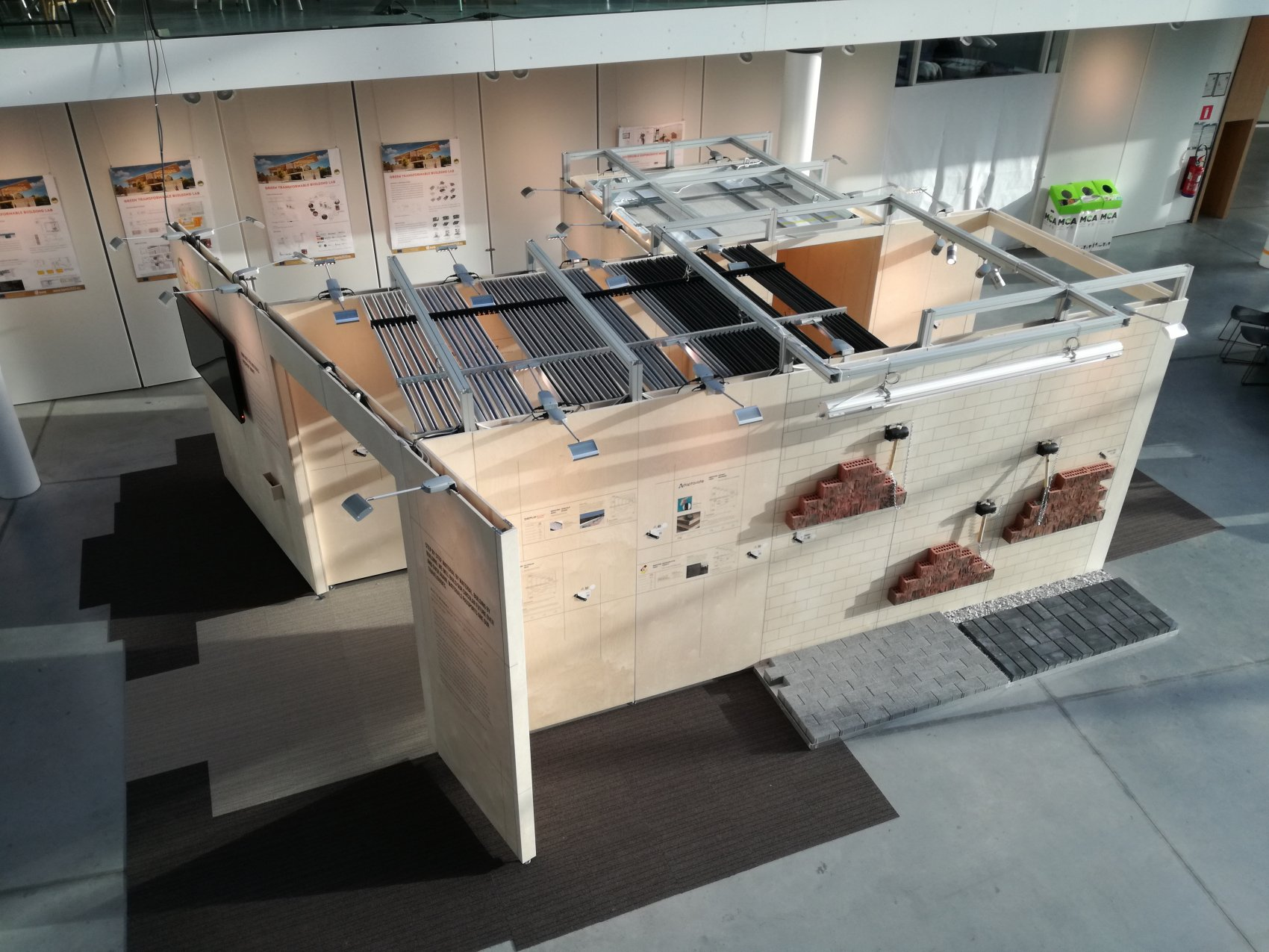 EPEA Reversible Experience Modules (REMs) Buildings as Material Banks (BAMB) expo Building Holland 17 t/m 19 april 2018 RAI Amsterdam